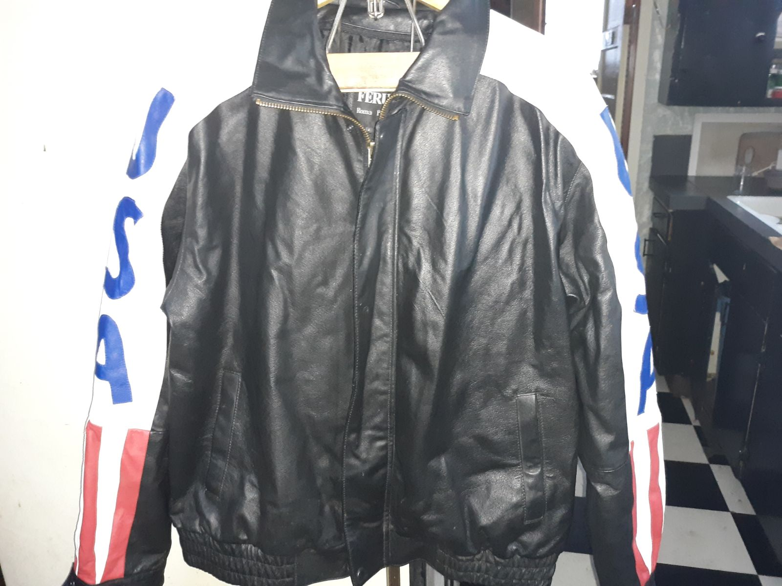 Ferugini Special Edition Leather Jacket