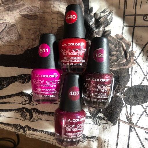 LA COLORS Color craze nail polish