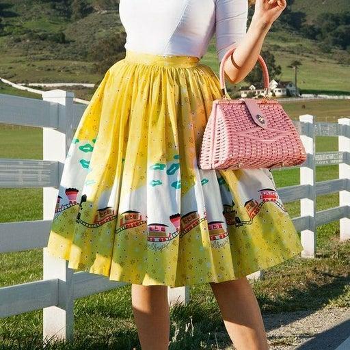 Mary Blair x Pinupgirl Train Skirt