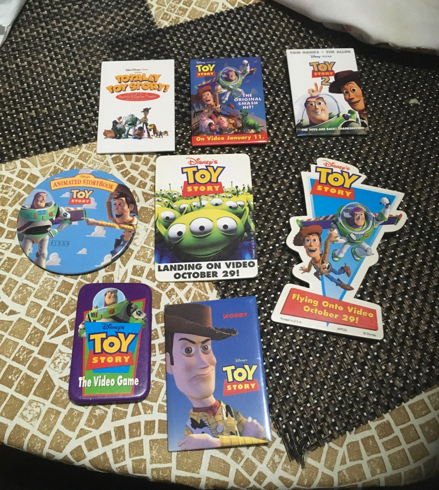 Toy Story Pins Collection