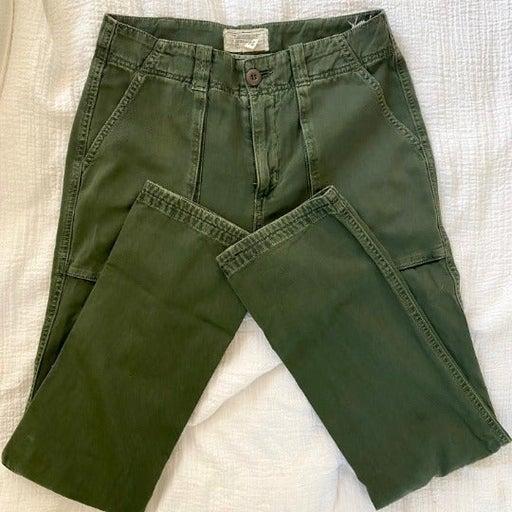 Current/Elliot Olive Cargo Pants