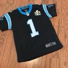 Nike Carolina Panthers jersey boys
