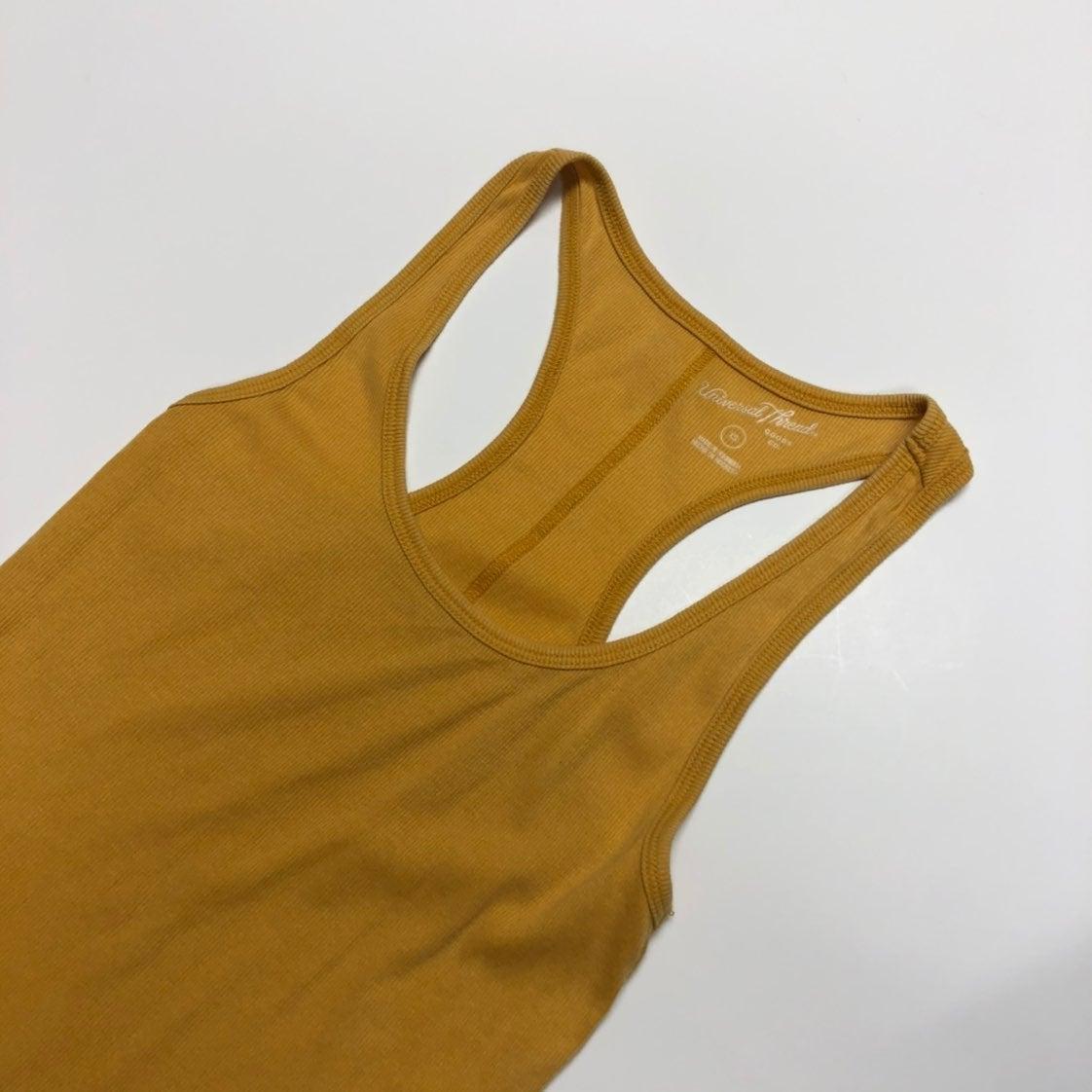 Universal Thread Mustard Yellow Tank
