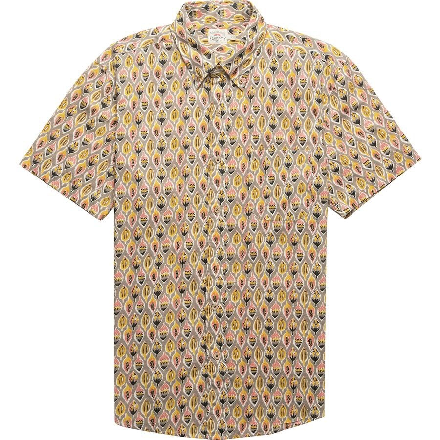 New Faherty Pacific Short Sleeve Shirt