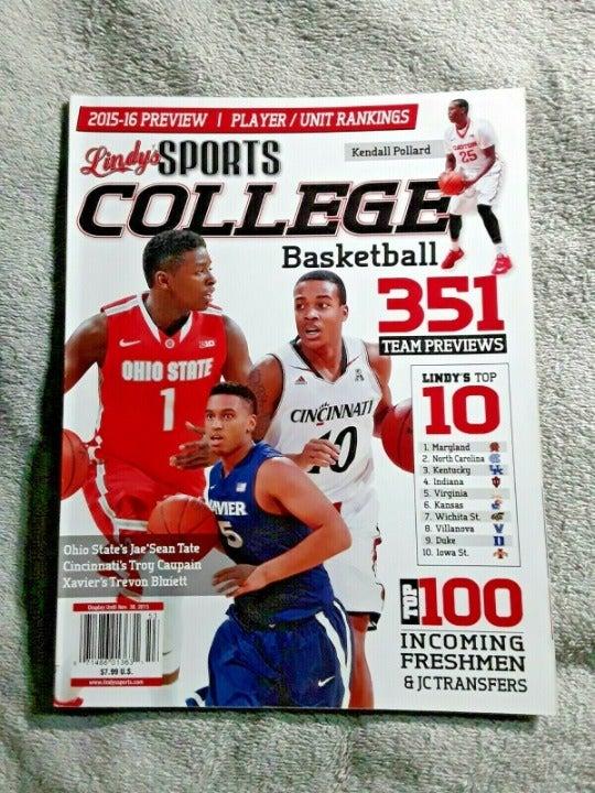 Lindys 2015 College Basketball Magazine