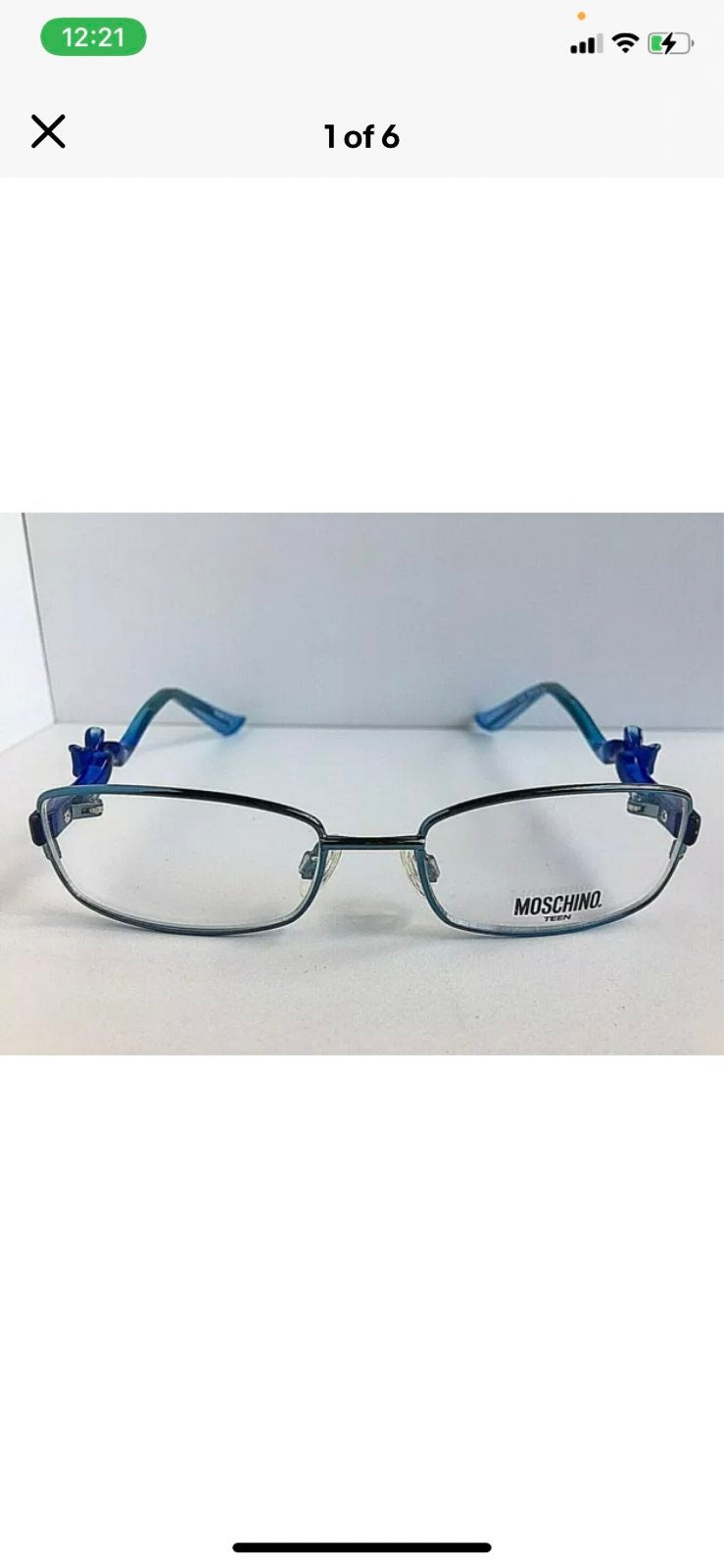 LOVE MOSCHINO Girls Teen Eyeglasses