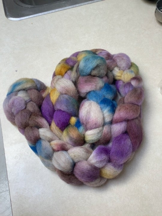 Silvered Roving - Indie Dyer