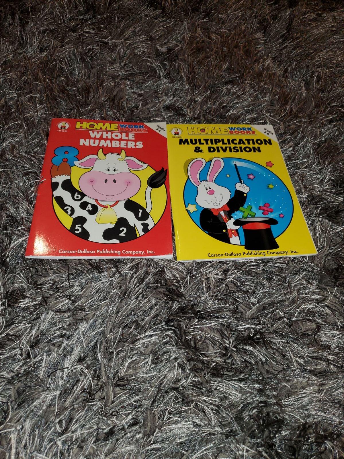 Carson- Dellosa Work Books Grade 3