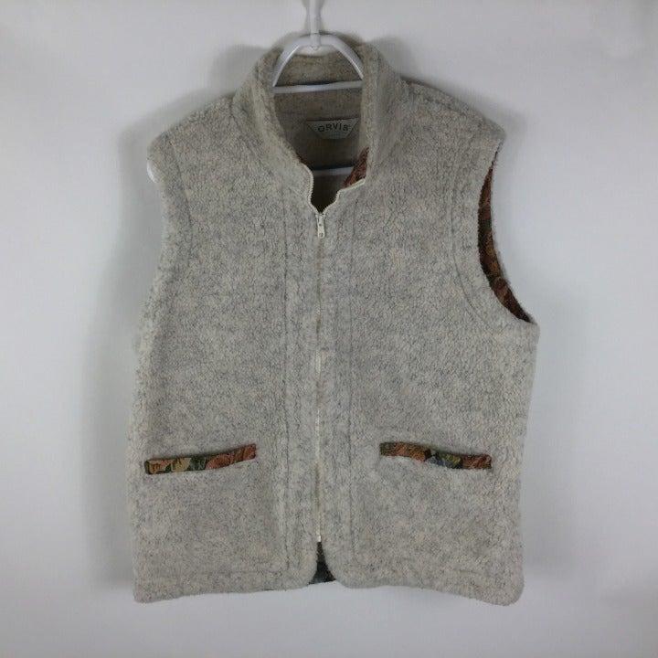 ORVIS Women's Sherpa Fleece Ivory vest