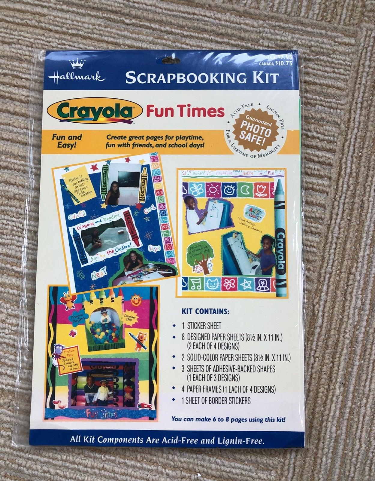 Hallmark Child Themed Scrapbooking Kit