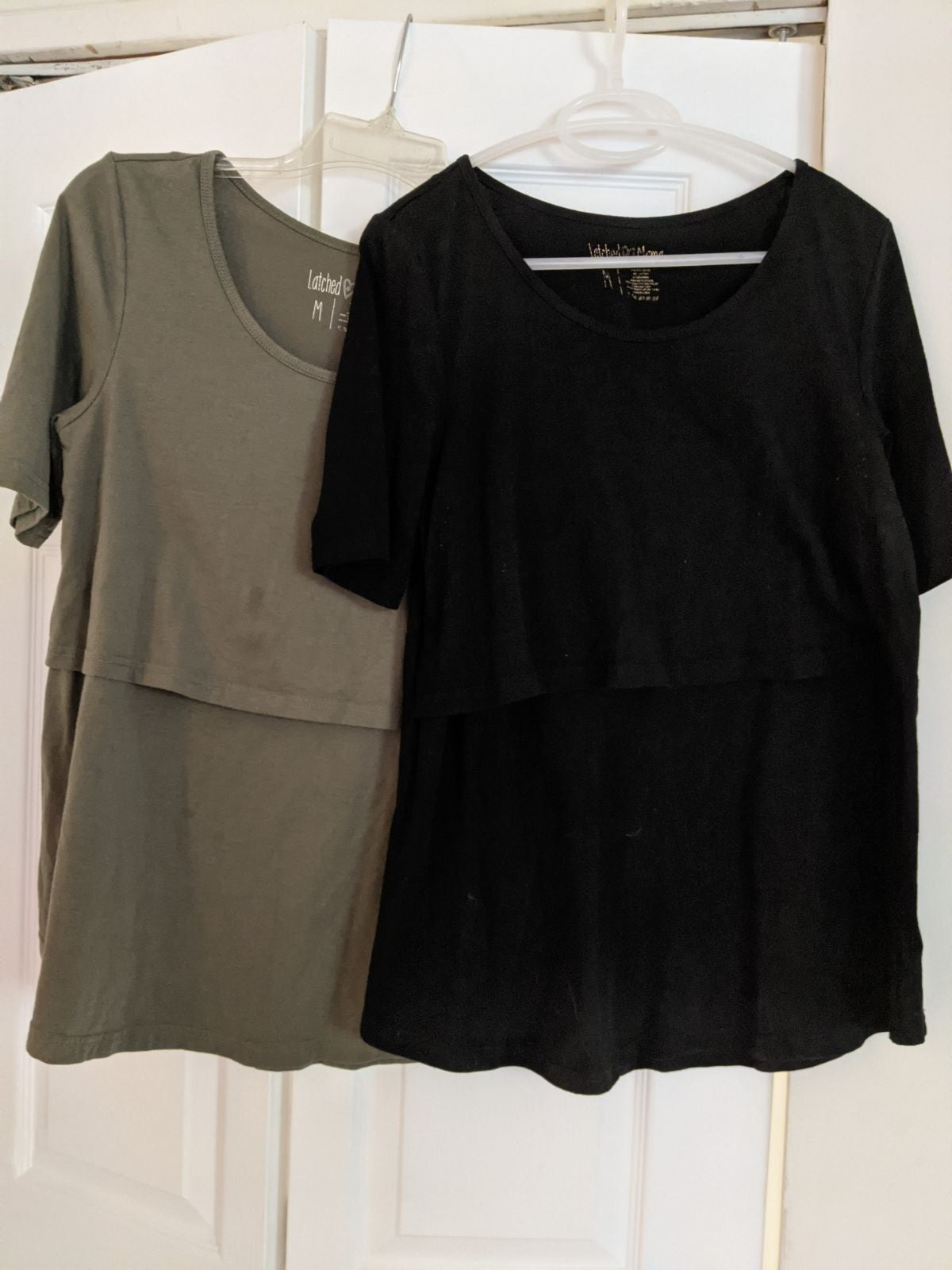 2 Latched Mama Nursing tops