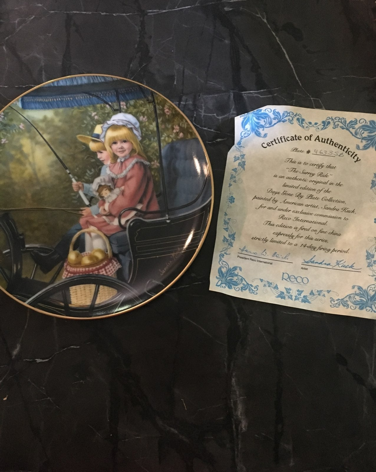 Beautiful Collector Plate.