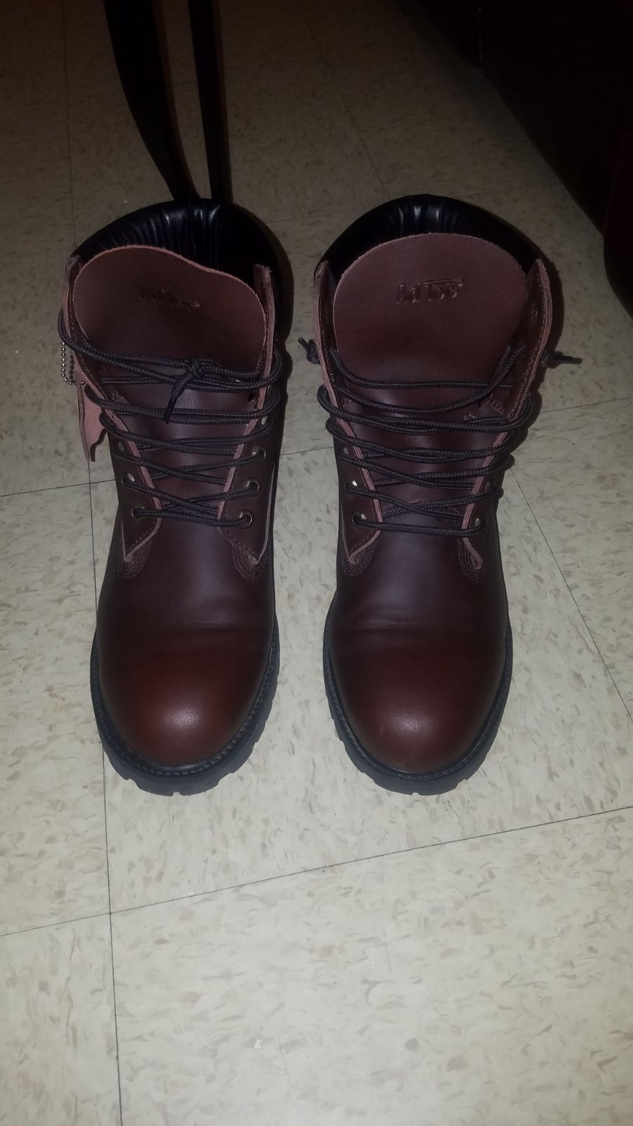 Adtec brown leather boots