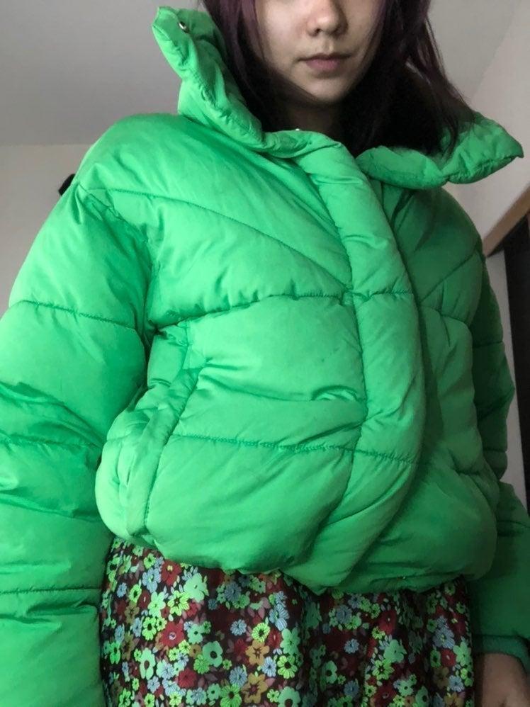 Green Tophop puffer!!