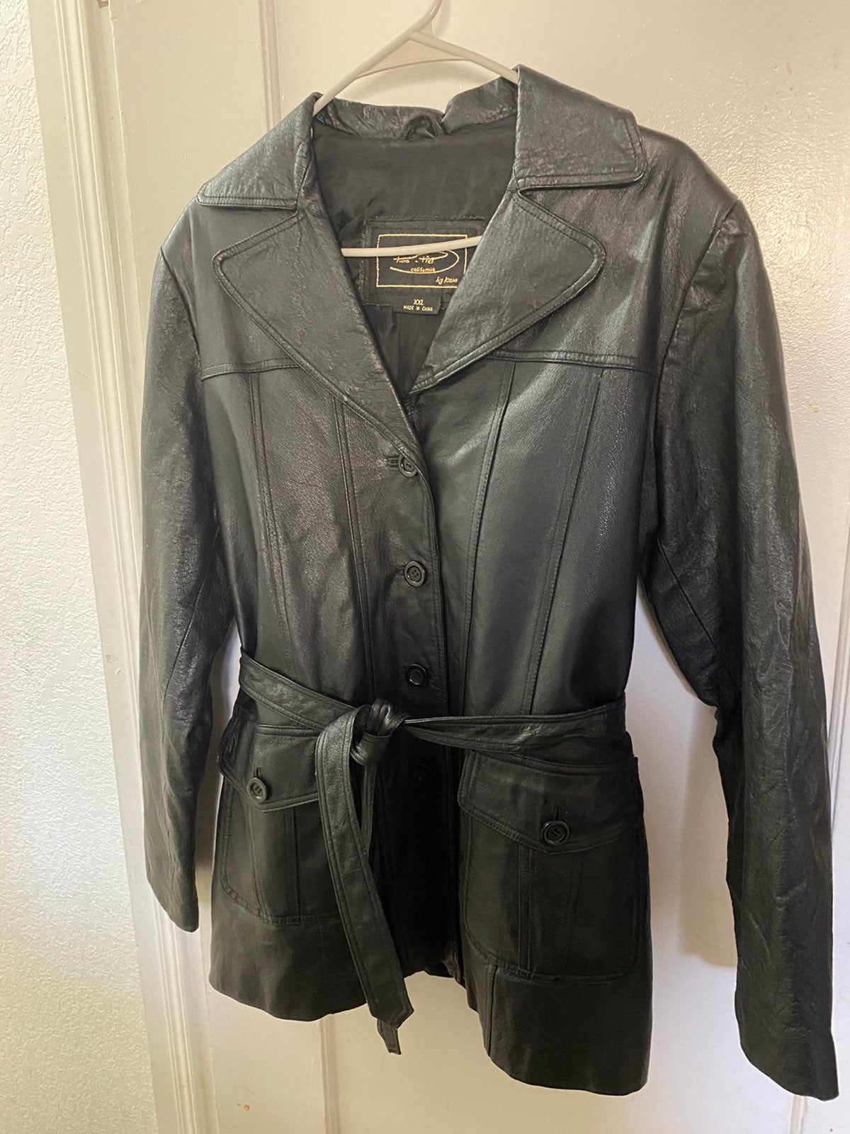 leather jacket women - 2XL