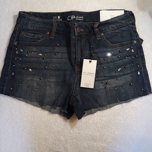 CP Jeans Denim Shorts Size 11/12