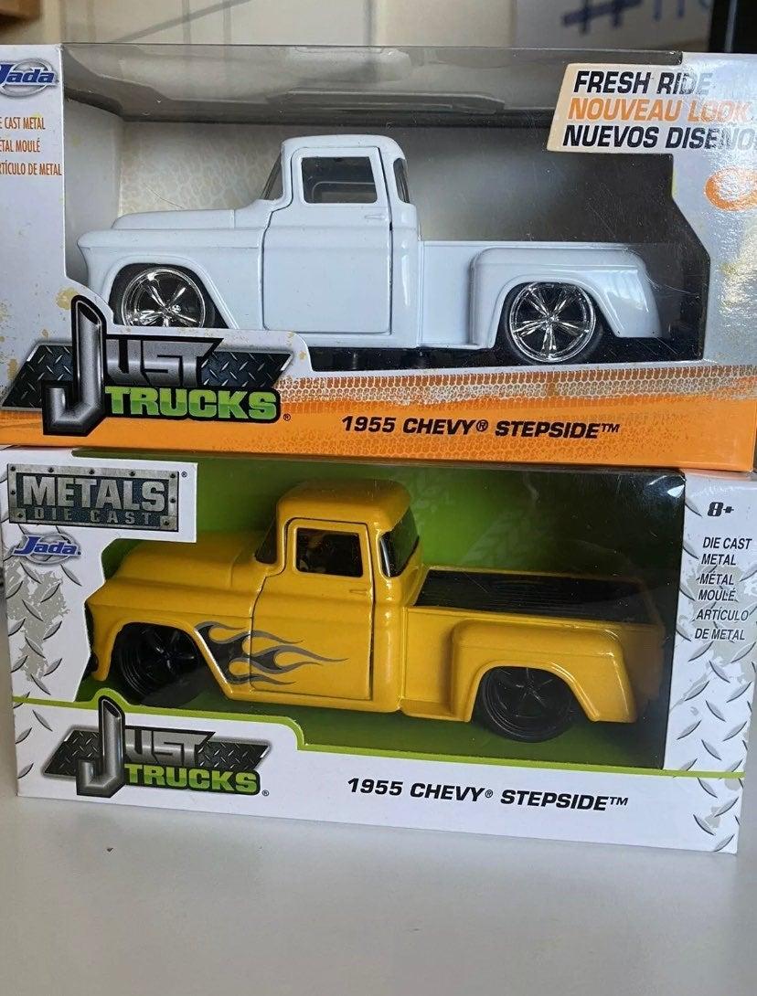 55' chevy pickup trucks 1:32 diecast