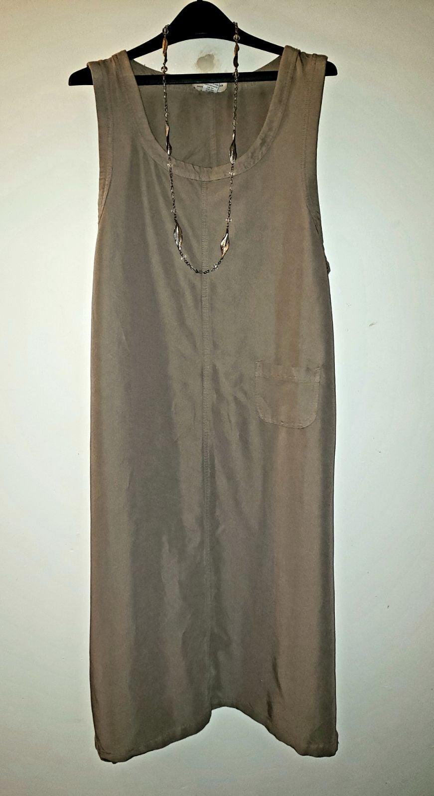 Original TY Wear Khaki Rayon Dress 16W