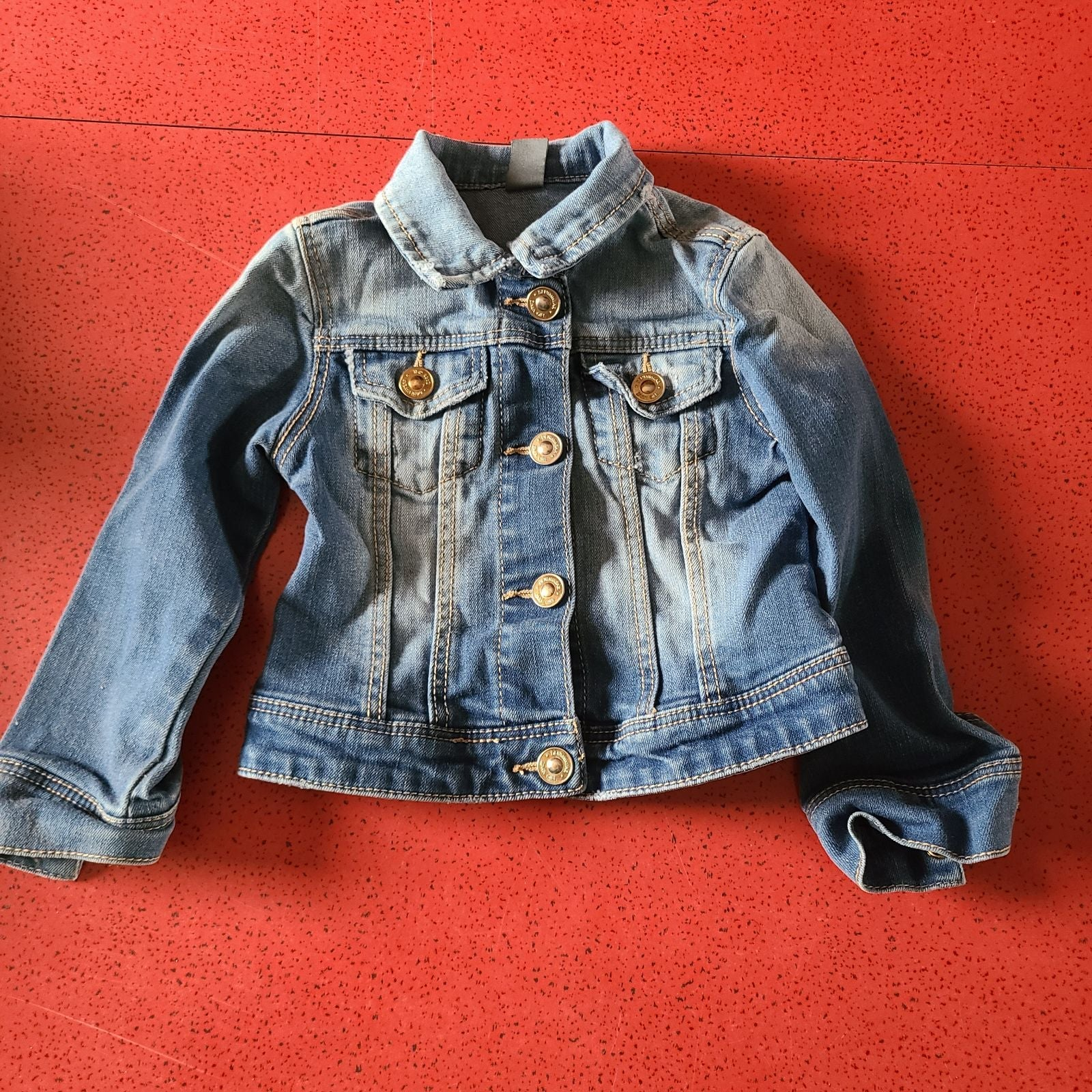 Jean Jacket Zara kids toddler 2t 3t deni