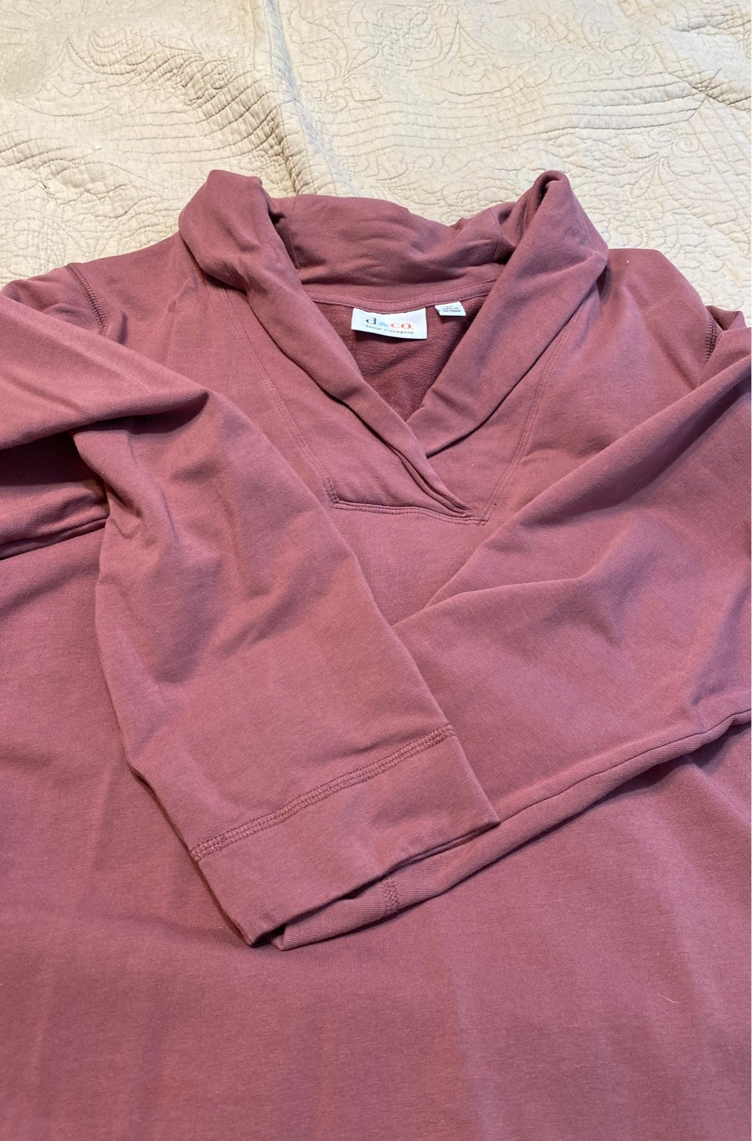 womens 3x rolled v neck shaw collar