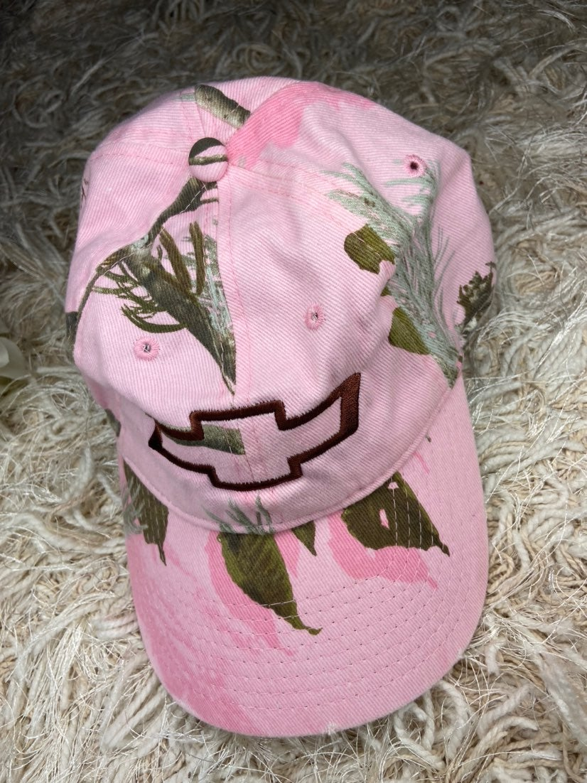 Realtree Pink chevrolet hat