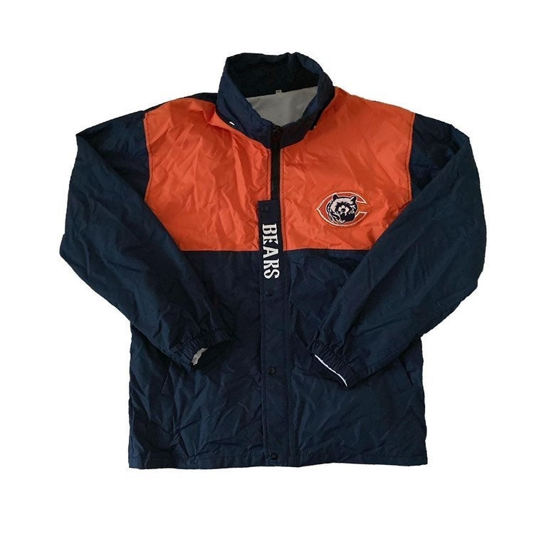 Vintage Chicago Bears Windbreaker