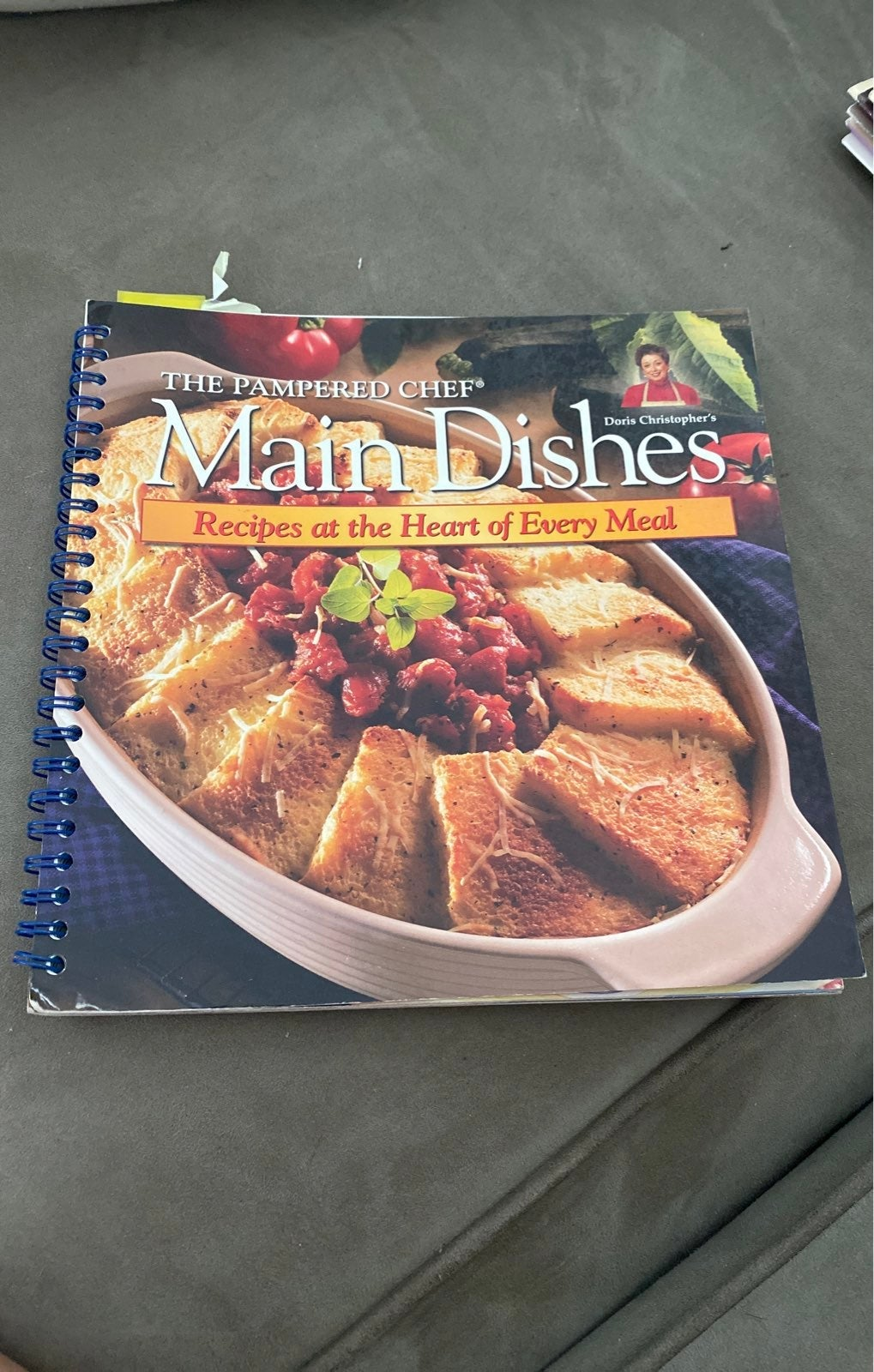 Pampered Chef Cookbook main dishes