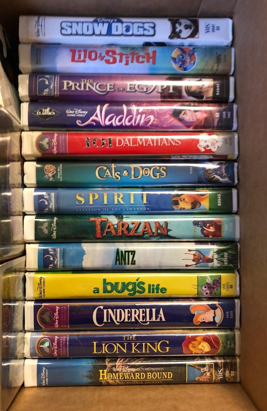 Disney, Pixar, Dreamworks VHS lot 23