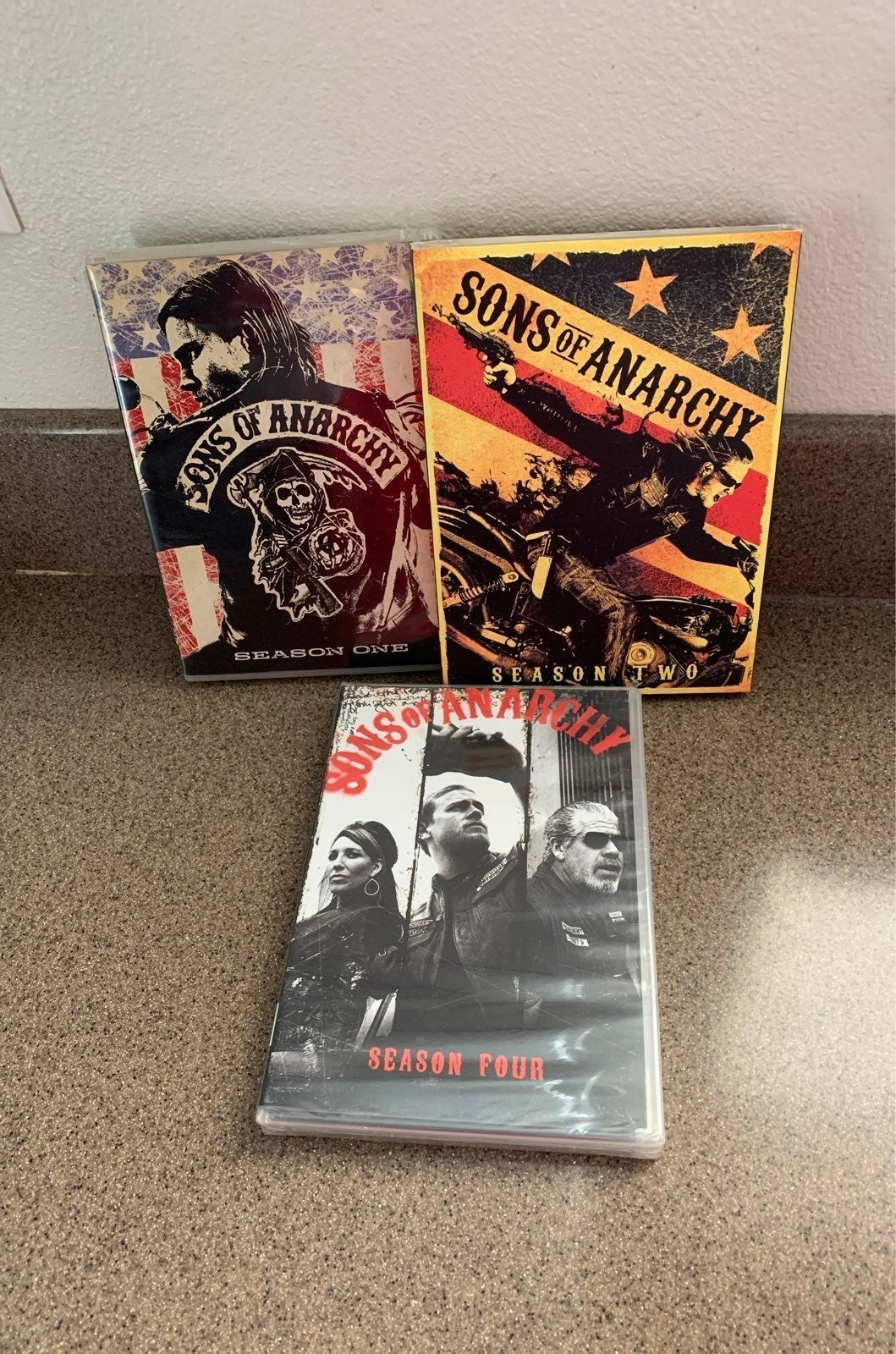 Sons of Anarchy Dvd's