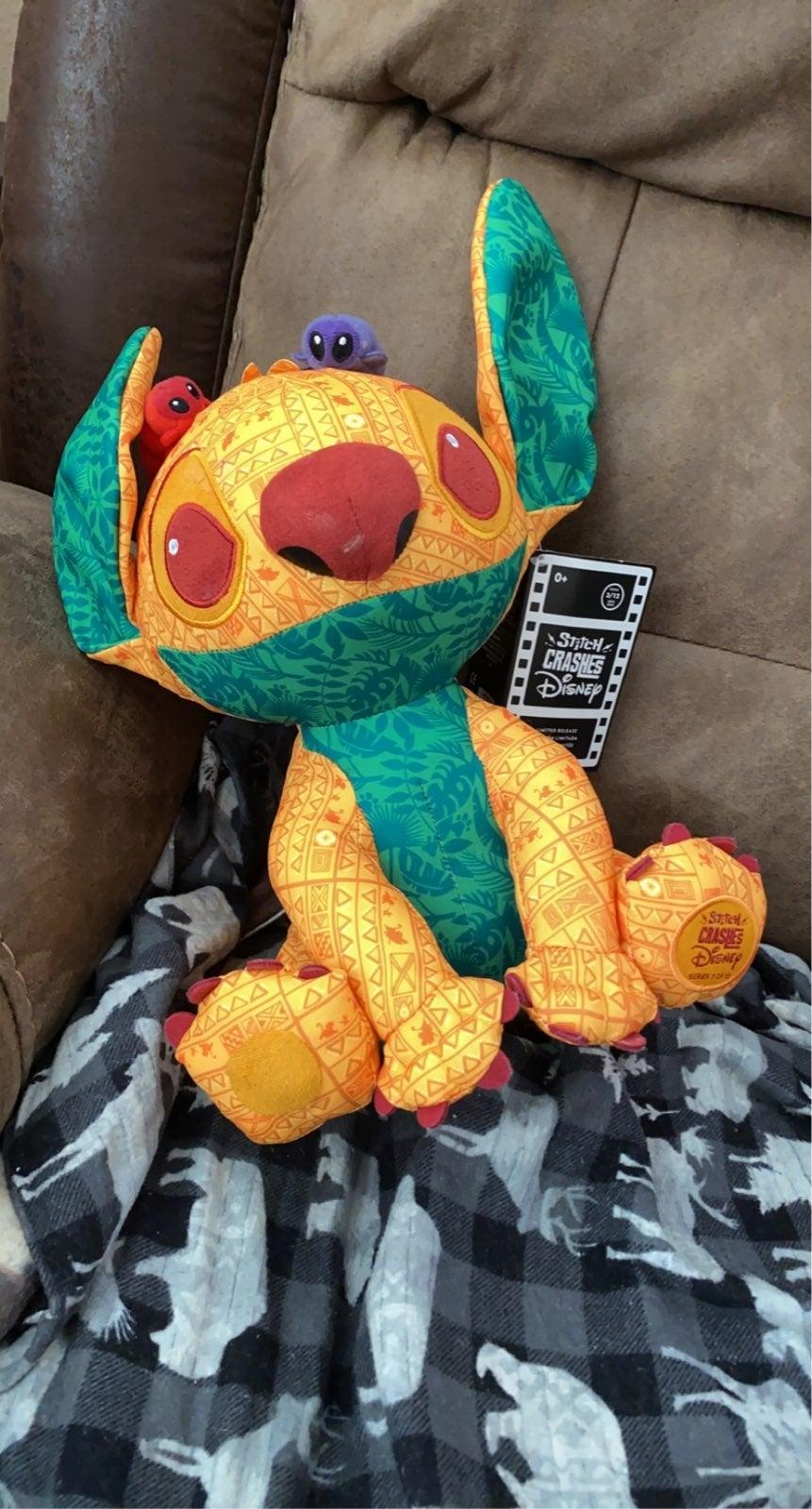 stitch lion king