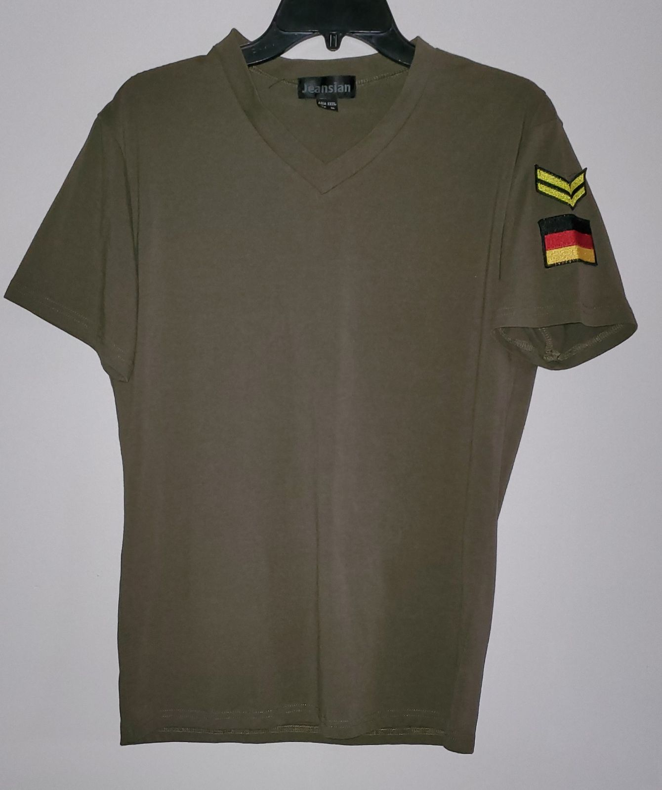 Army Green Jeansian T Shirt