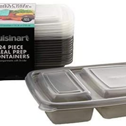 Cuisinart 24 Piece Meal Prep Containers