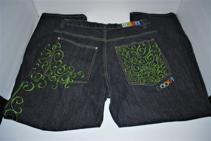 Coogi Men's Embroidered Pockets 38 x 32