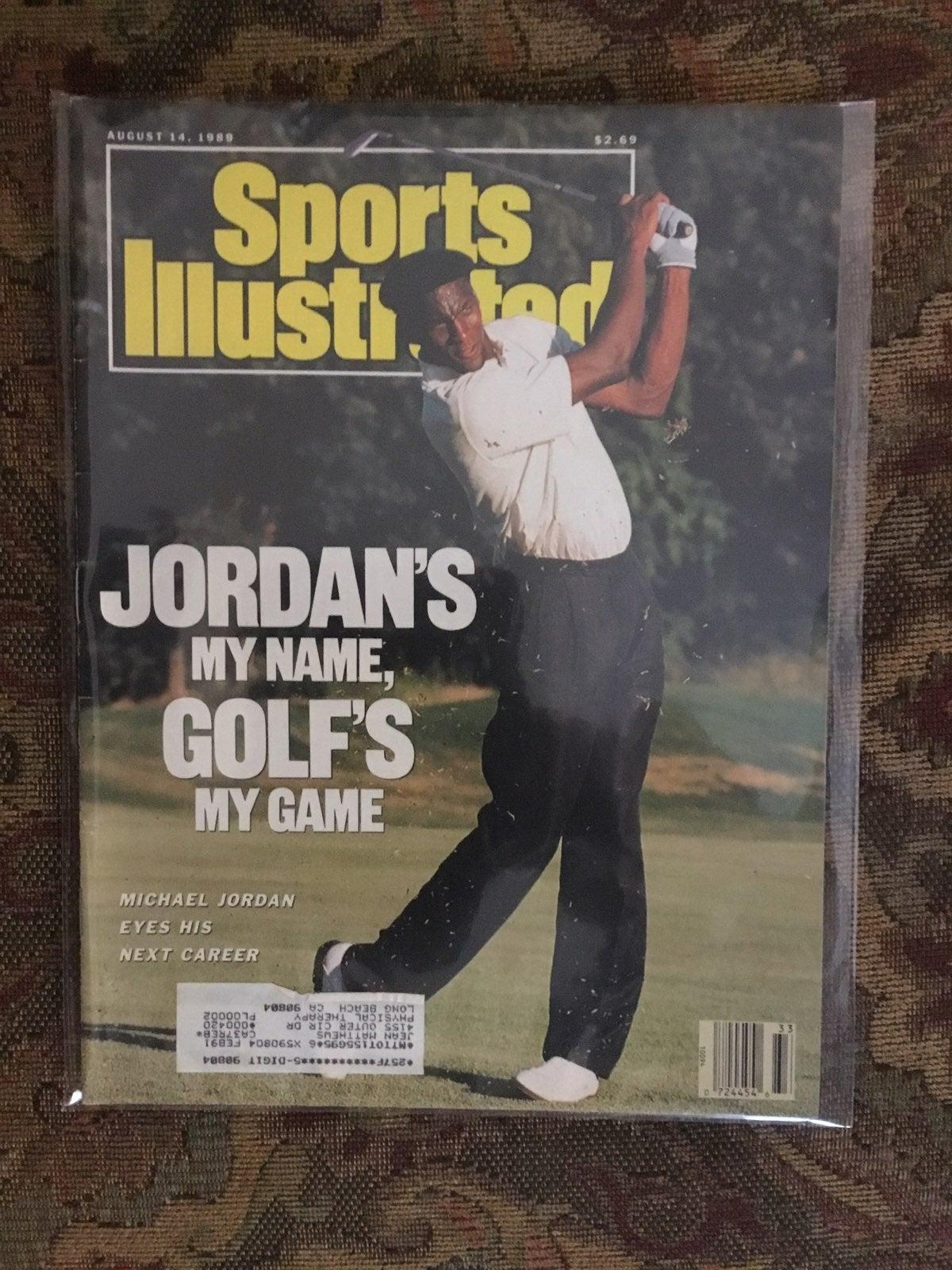 1989 Michael Jordan Sports Illustrated