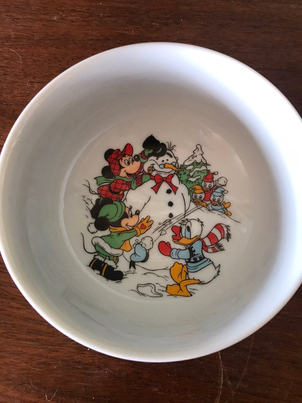 Vintage Walt Disney Mickey Bowl