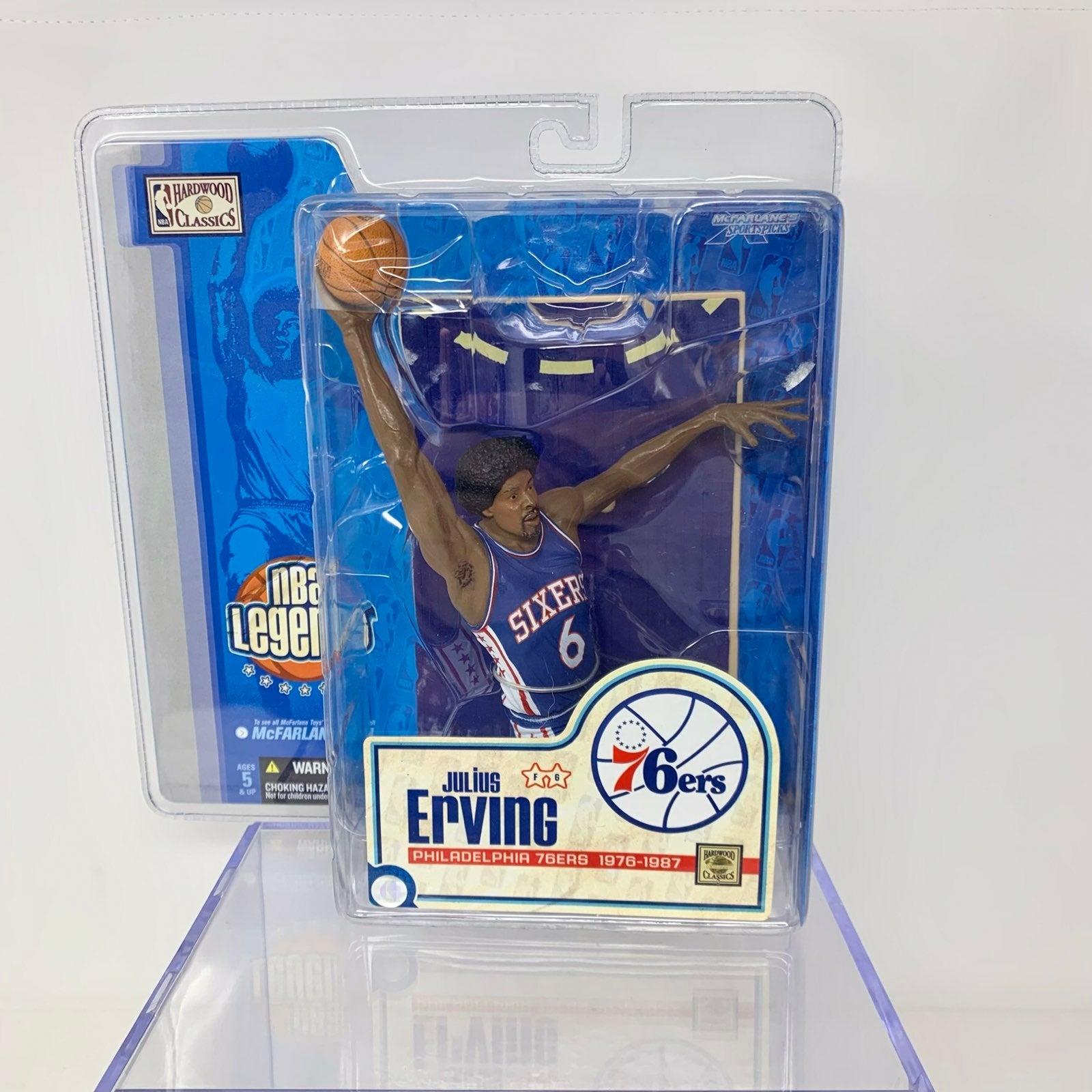 NBA McFarlane Figure Julius Erving 76ers