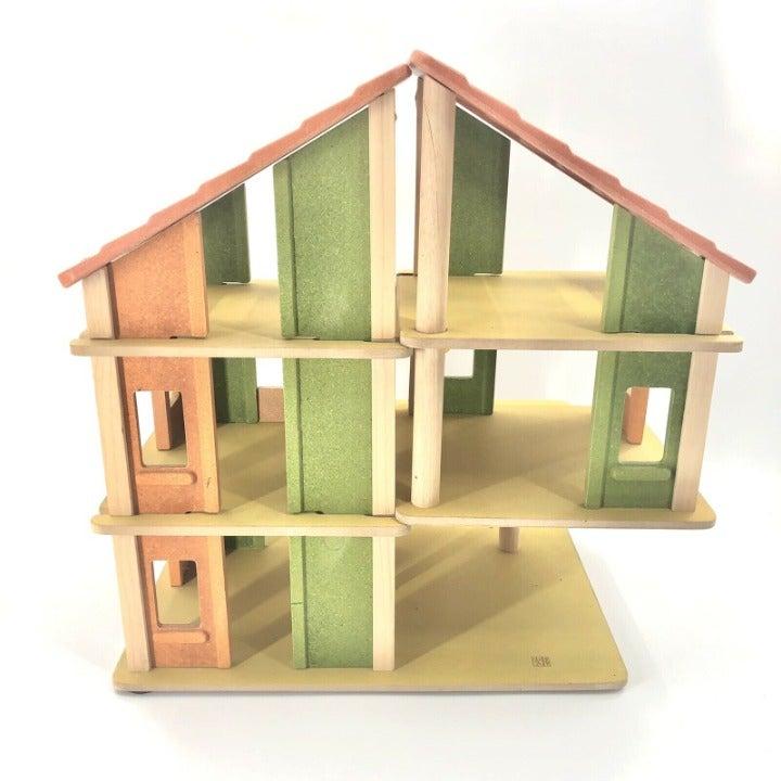 "Plan Toys Chalet Dollhouse 30"" Tall"