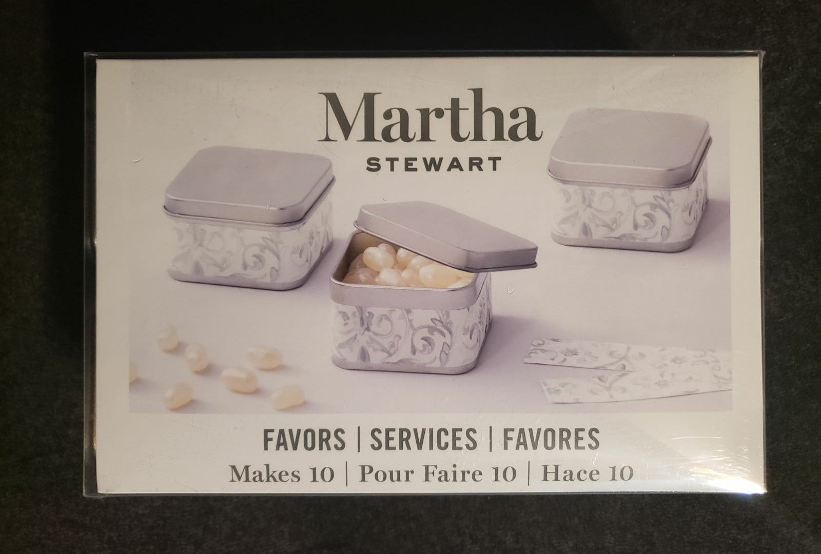 Martha Stewart Favor Tins
