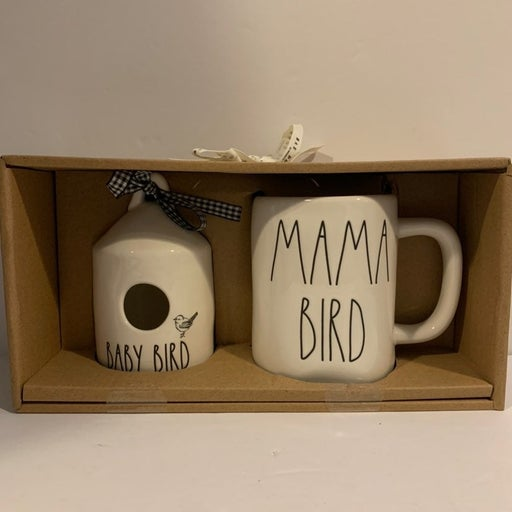 Rae Dunn BABY BIRD + MAMA BIRD Set
