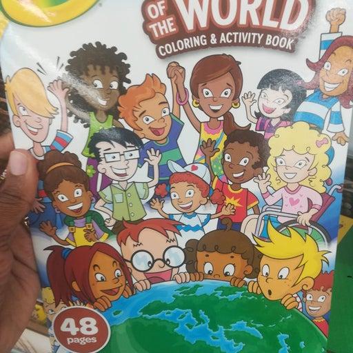 Culturally enriched crayons & color book