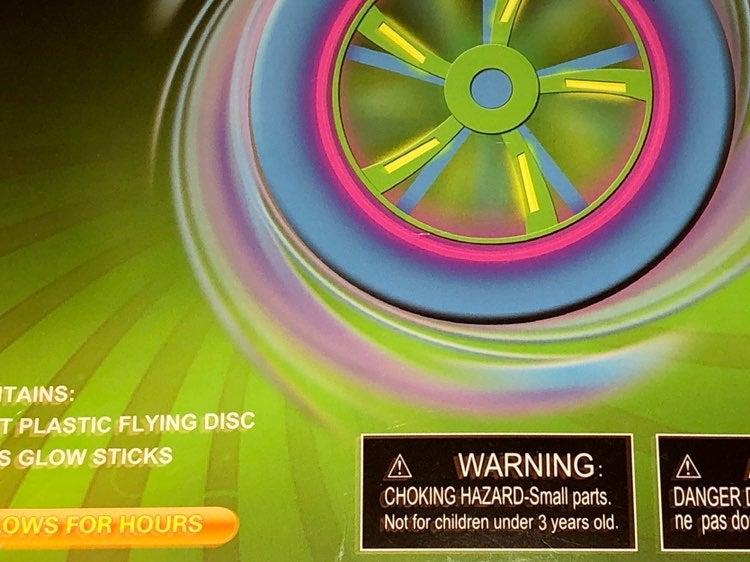 Glowing Frisbee