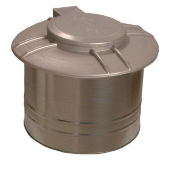 Pet waste septic tank