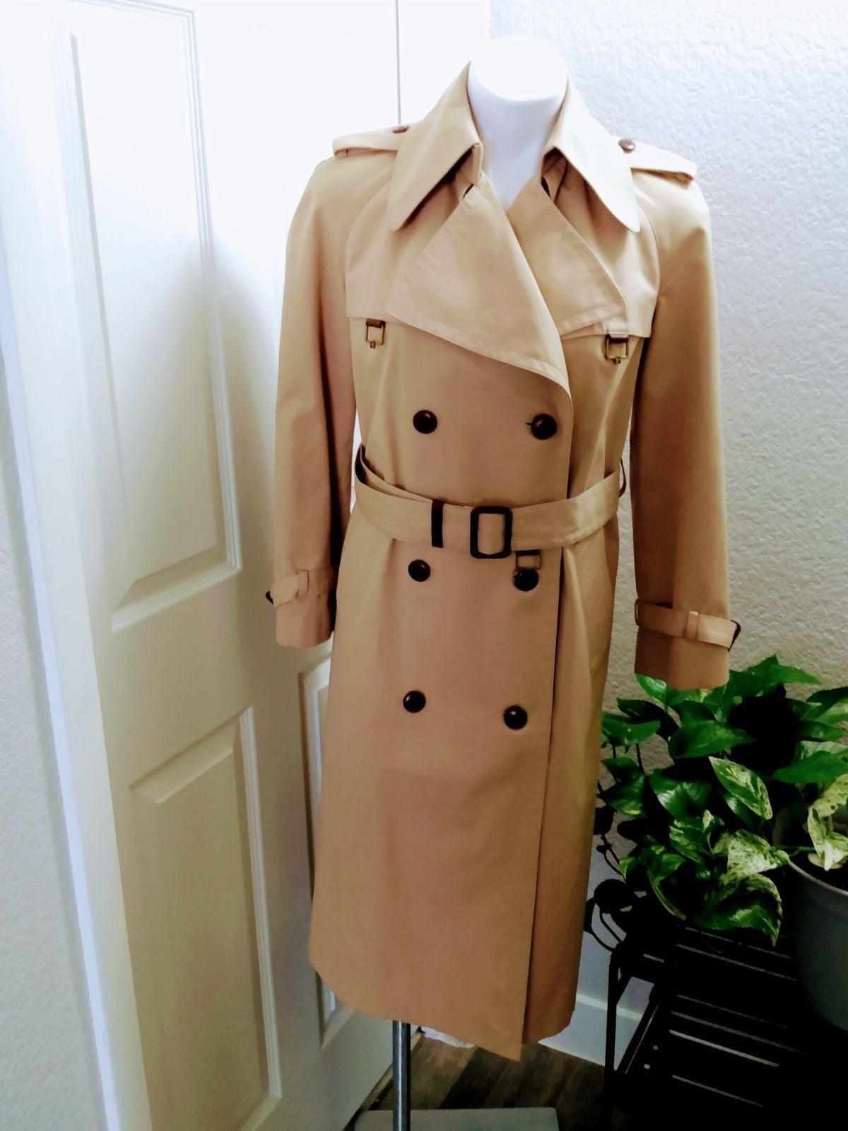 VTG 70/80's Etienne Aigner Trench Coat