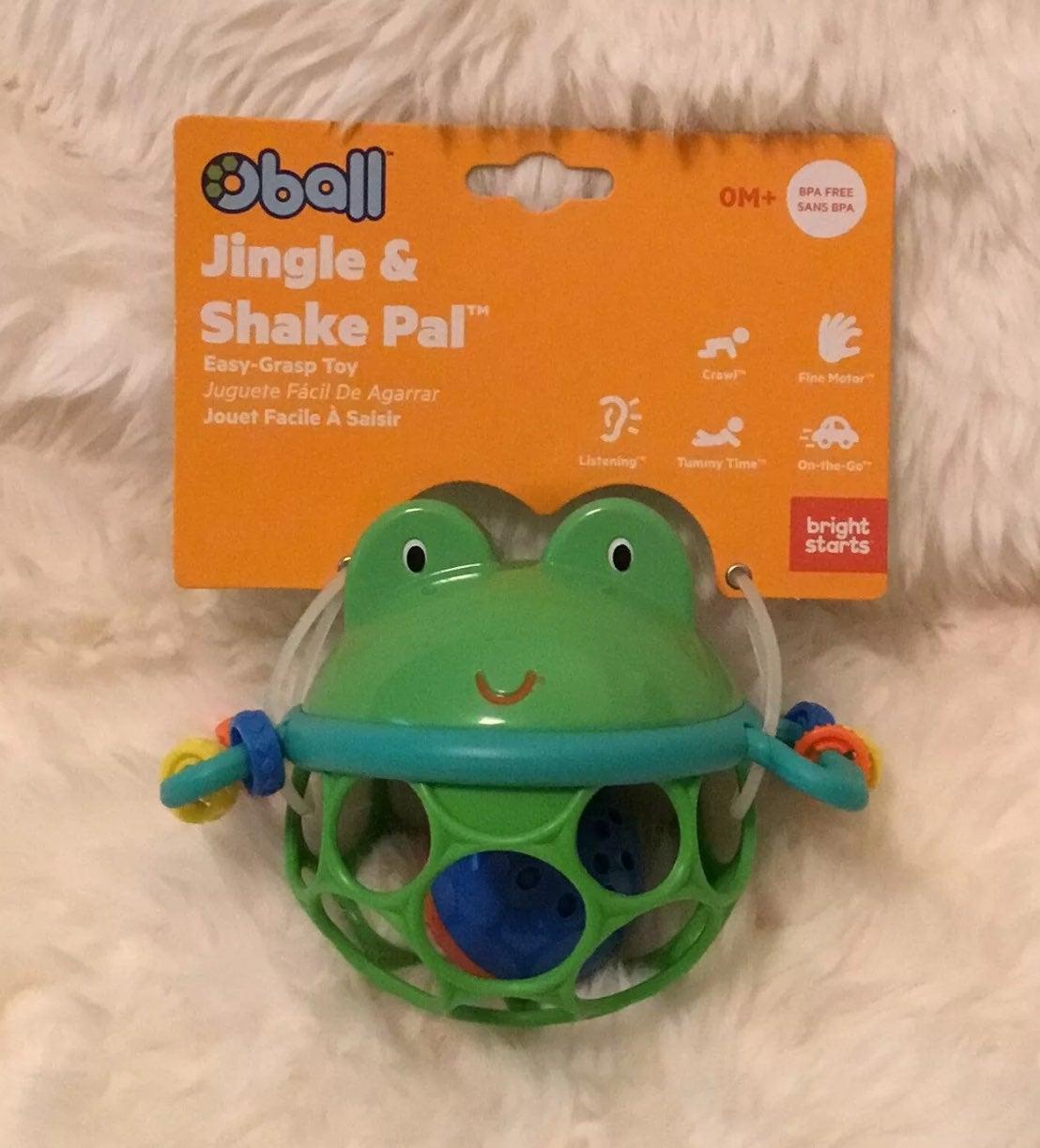 Oball Jingle & Shake Pal Easy-Grasp Ratt