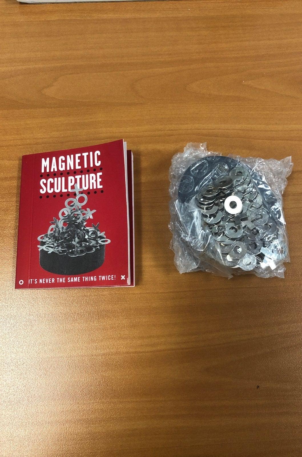 new magnetic sculpture desk decor / toy
