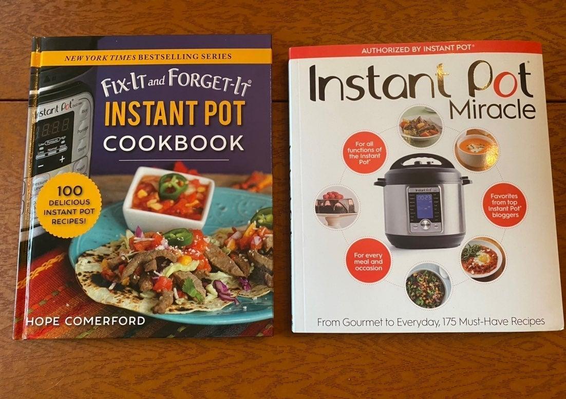 2 Brand New InstaPot Cookbooks