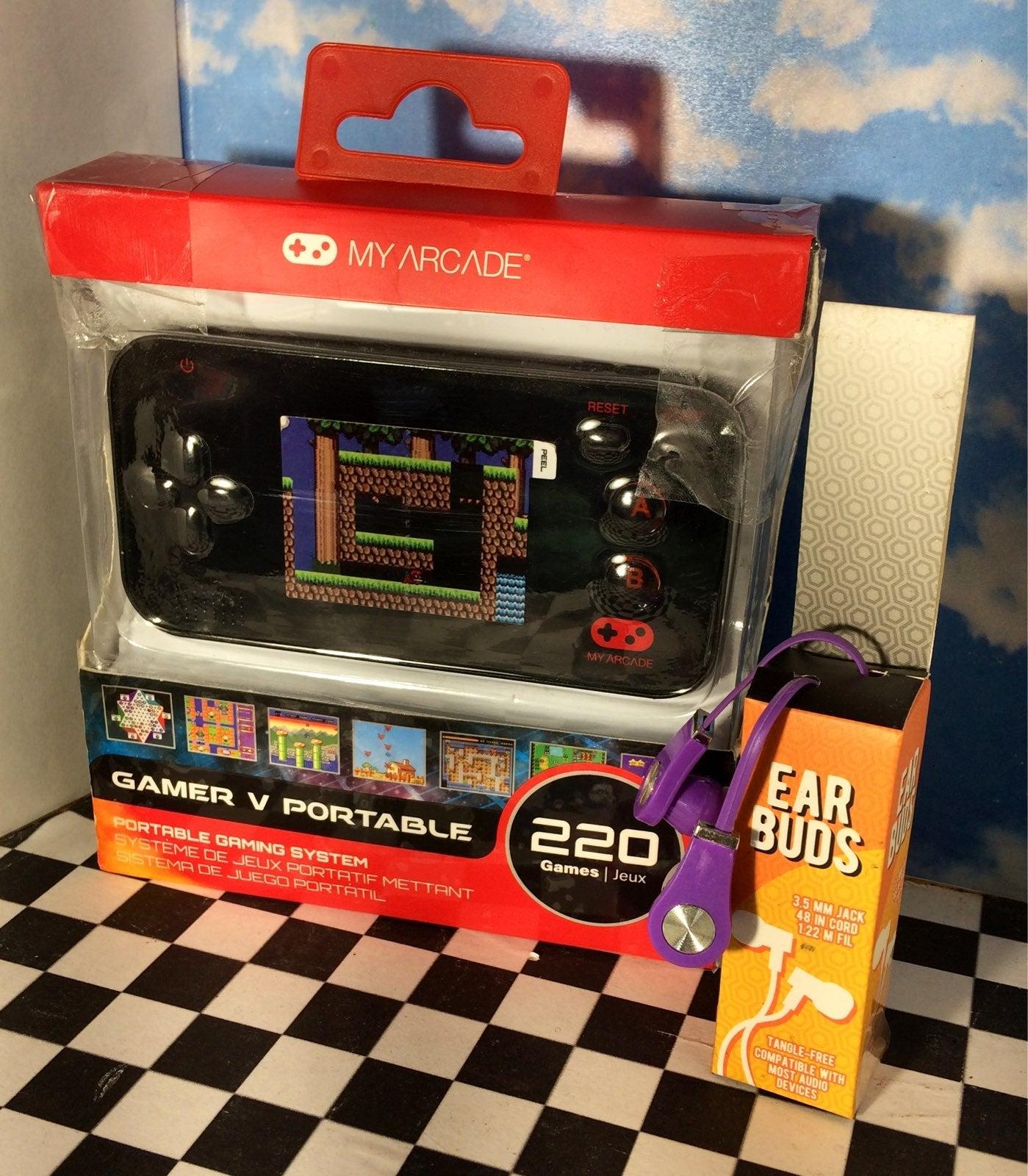 Gamer V Portable My Arcade + bonus buds