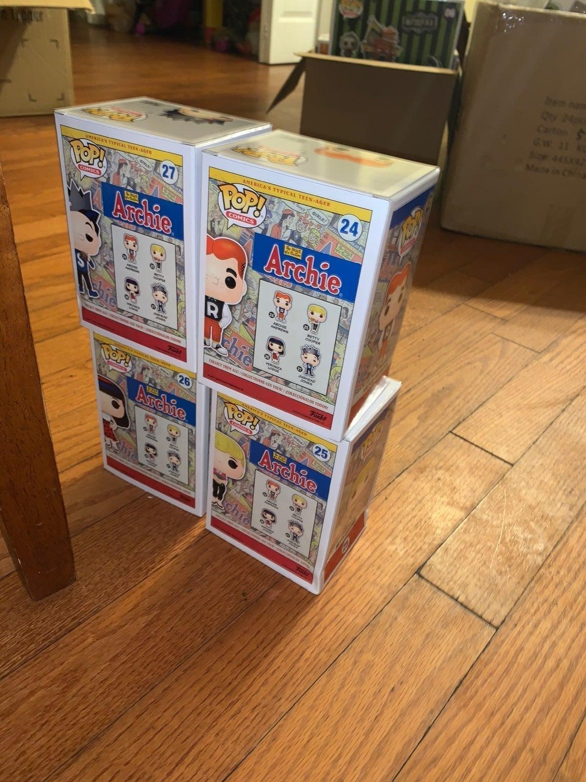 Archie Comic Book funko pop lot