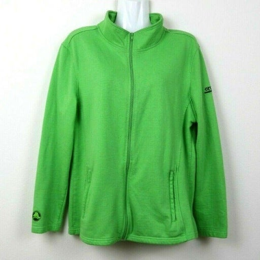 Crocs Medical Scrubs Womens Jacket Green