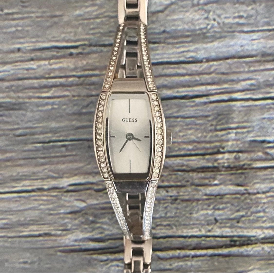 Women's Guess Watch with rhinestones